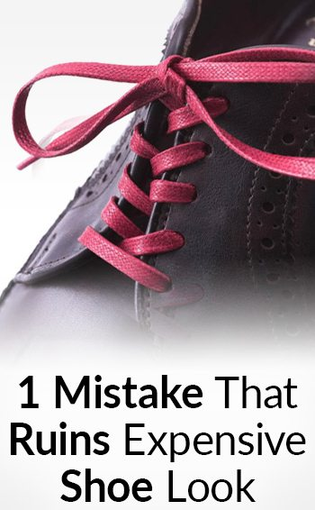 How to lace dress shoes odd
