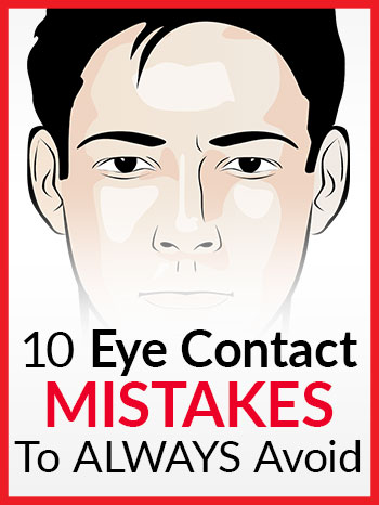 how to hold eye contact