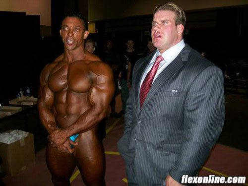 custom suit body builder menswear