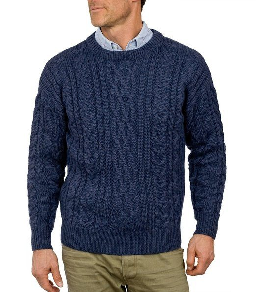 Tymhgt Men Solid Color Knit Round Neck Full Sleeve Slim Fit Sweater