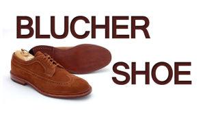 Blucher-Shoe