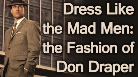 dress like the mad men the fashion of don draper