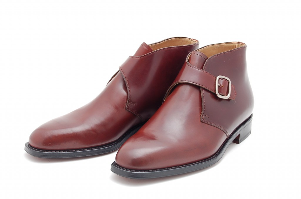 monk strap dress boot