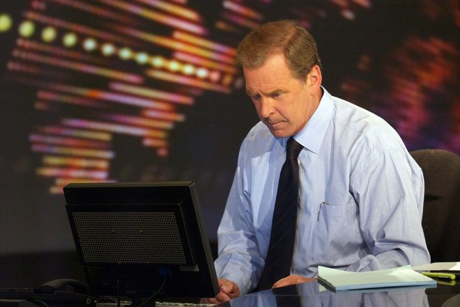 Peter Jennings dressing sharp