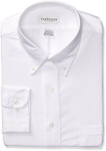 046a02644691a Van Heusen Men s Long Sleeve Oxford Dress Shirt
