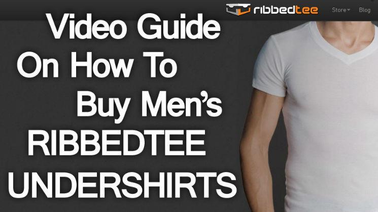 RibbedTee Undershirt Video Review