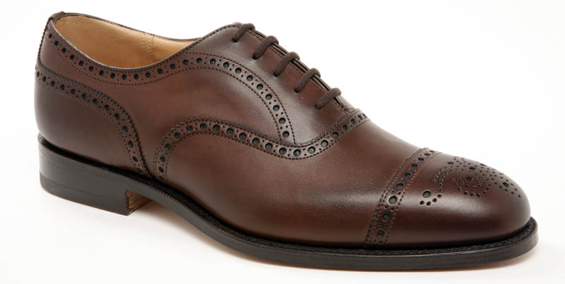 mens classic brown dress shoe