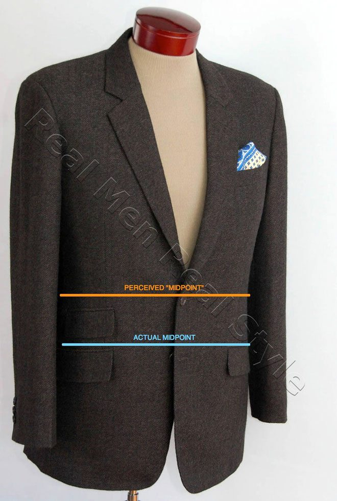 mens sports jacket fit