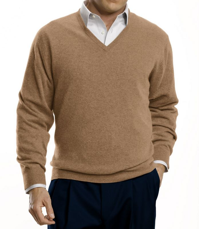 Man wearing sweater