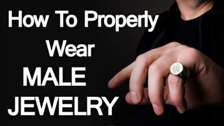 How To Properly Wear Male Jewelry