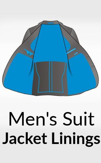 men's suit jacket linings title image