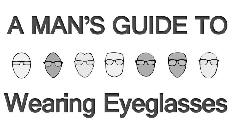 A Man's Guide to Wearing Eyeglasses