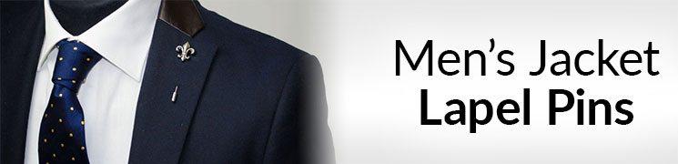 Men's Jacket Lapel Pins