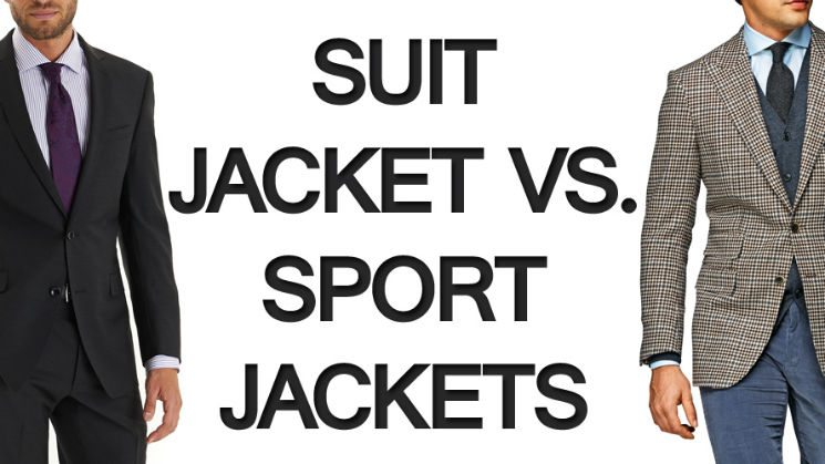 Suit Jacket Vs Sport Jackets What S The Difference