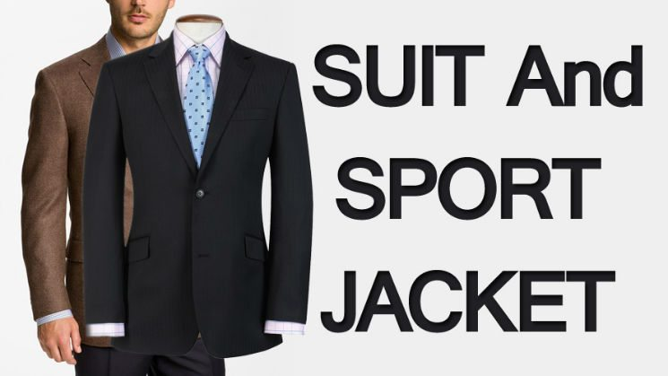 What's in a Men's Jacket | Drawing the Line between a Suit and Sport Jacket