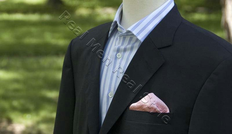 suit jacket worn as blazer