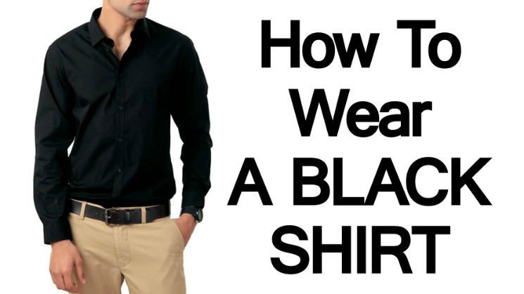 Man's Guide To The Black Shirt