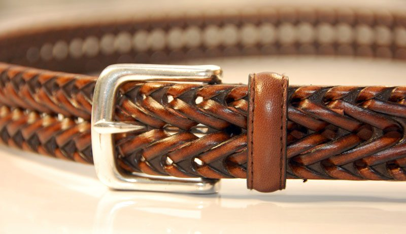 Brown-Braided-Belt