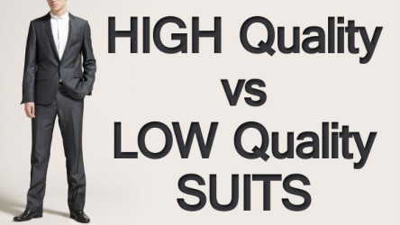 Buying High Quality vs Low Quality Suits | Men Style Tips