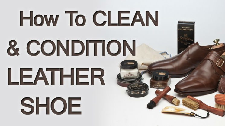 Men s leather shoe cleaning conditioning polishing product overview video - How to clean shoes ...