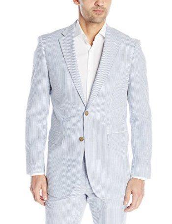 Nautica Men's Seersucker Suit Separate Jacket