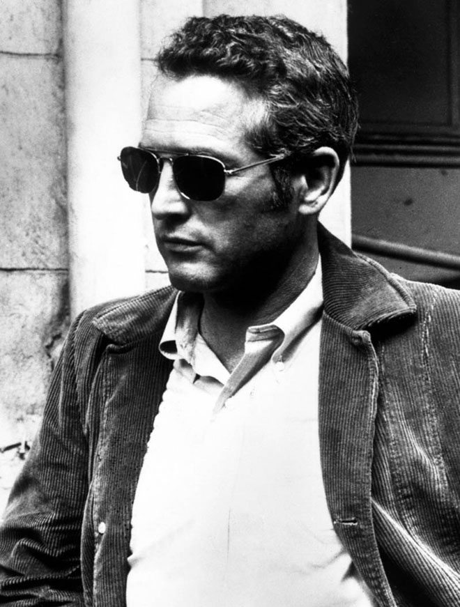paul newman casually dressed man