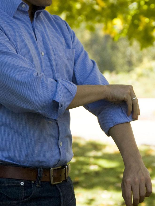 Rolling Men's Shirt Sleeves