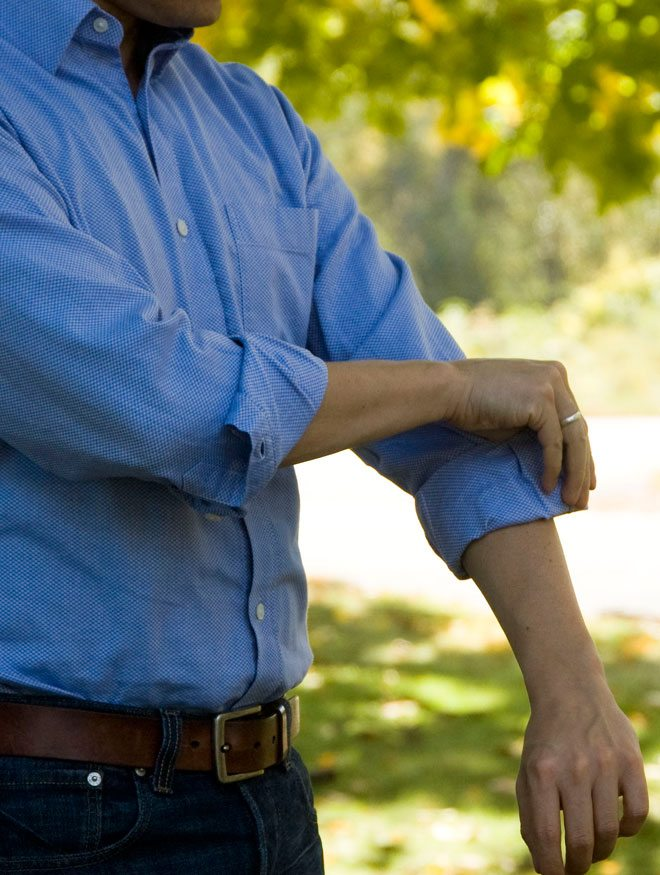 Rolling Men's Shirt Sleeves