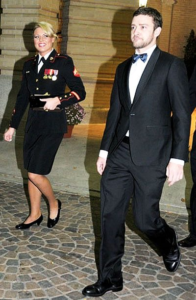 Humble yet stylish lessons from justin timberlake attending a humble yet stylish lessons from justin timberlake attending a marine corps birthday ball ccuart Images