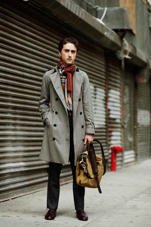 Images of Short Trench Coat Mens - Reikian
