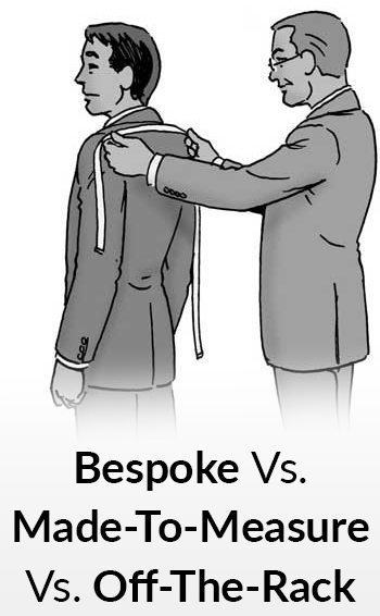first rate reputable site 2019 authentic Bespoke vs. Made-To-Measure vs. Off-The-Rack | What's The ...