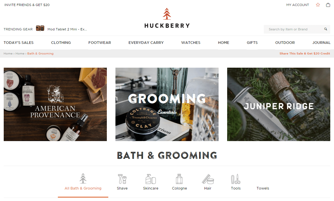 Shop Bath Grooming Online Huckberry