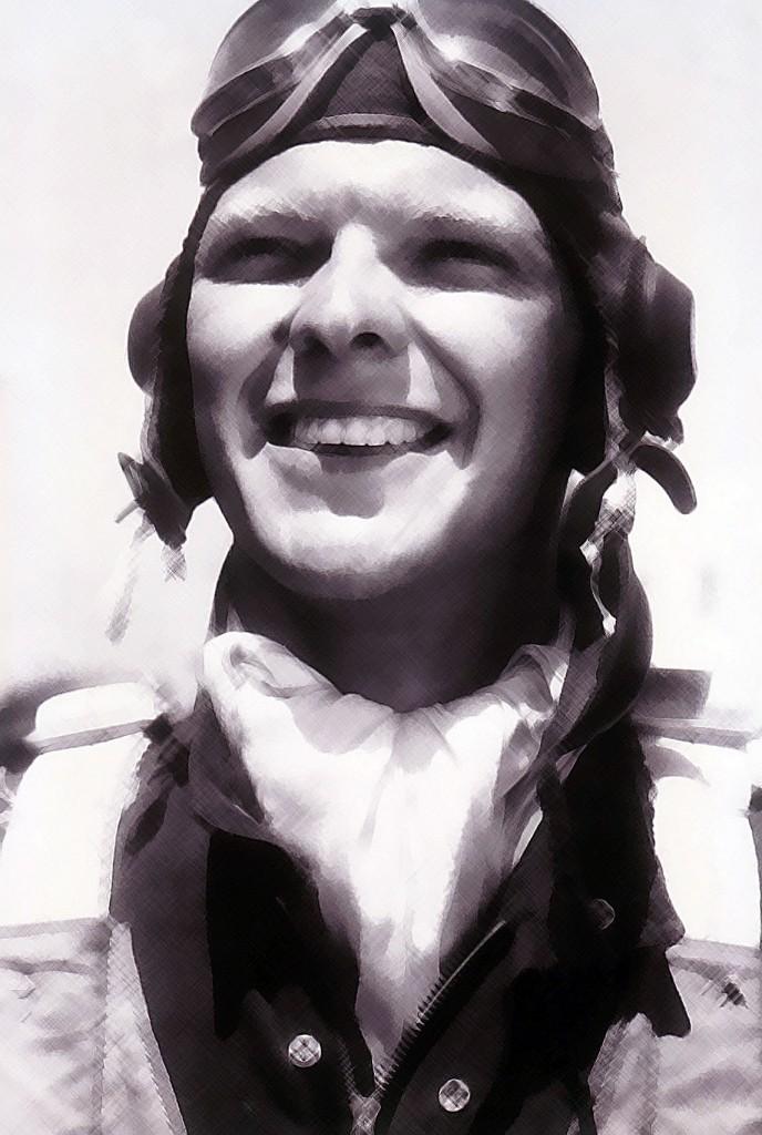 Aviator scarf