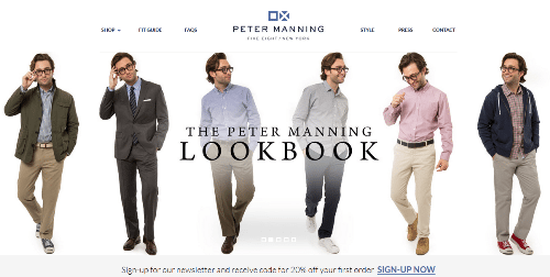 Recommended Men's Clothing Retailers
