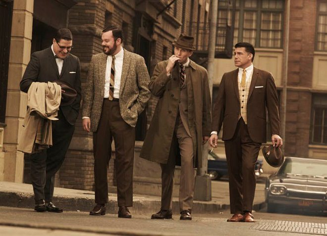 Why No Shoes Mad Men