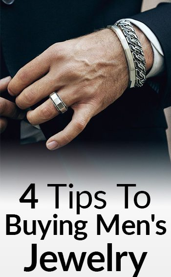 4 tips to buying men's jewelry title image
