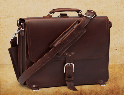 Saddleback Briefcase Thin