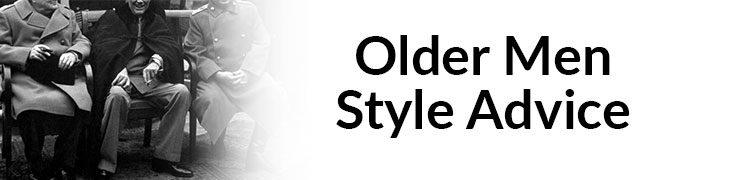 Older Men Style Advice – Tips On How Older Men Should Build A Wardrobe