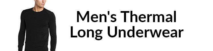 Men's Thermal Long Underwear – Carol Davis' Sportswear – Video Review