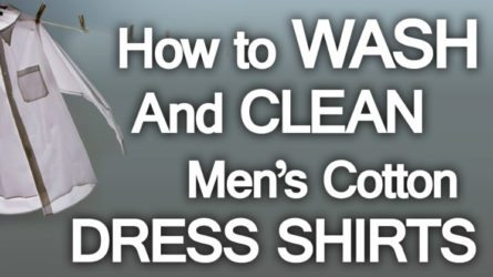How to wash mens dress shirts cleaning dress shirts fandeluxe Gallery