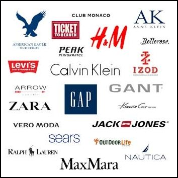 How to choose which clothing brand to buy for T shirt brand name list