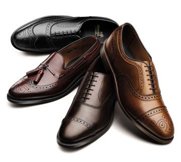 Old style dress shoes
