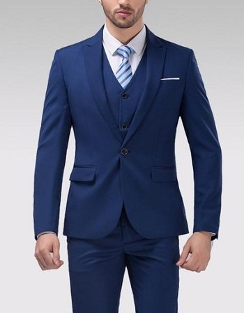 Image result for Buttoning A Suit Jacket
