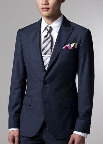 Navy Suit Black Shoes What Color Tie