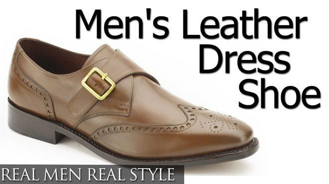 Buying Men's Leather Dress Shoe | Overview Video | Types of Dress ...