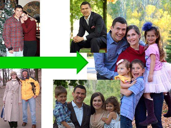 Antonio's family