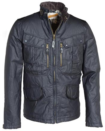 Waxed cotton jackets tend to be much less stifling than those made from nylon, PVC, or other synthetic materials. Weight is the primary disadvantage of cotton jackets, particularly if .