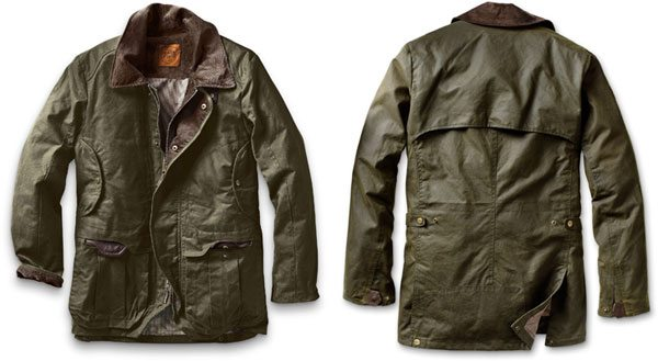 Eddie Bauer waxed jacket
