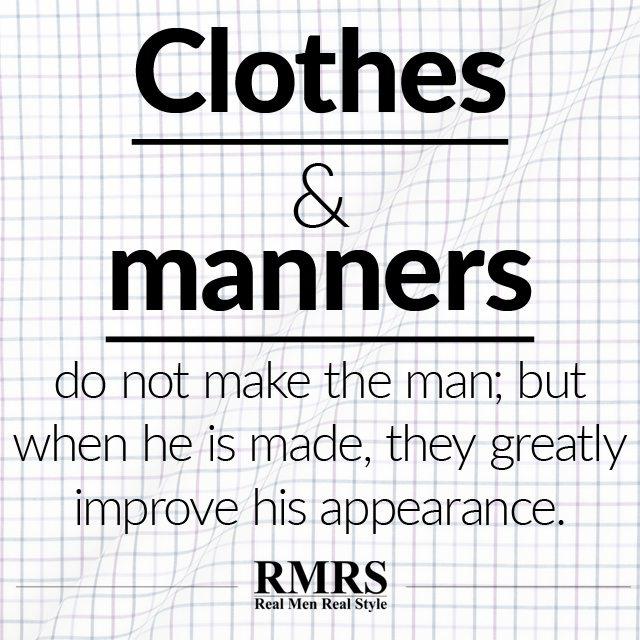 Do clothes make the man essay