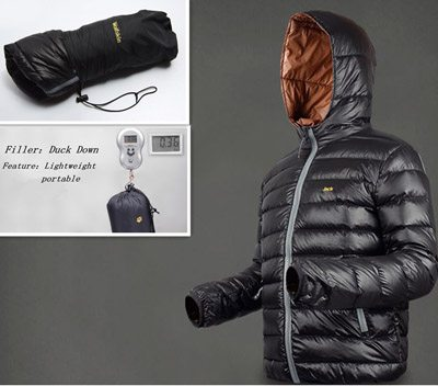 Men's Lightweight Down Jacket | Classic Wardrobe Piece?